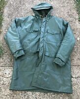 Vtg Weather-Rite Hunting Insulated Stormcoat Mens Jacket Coat Parka Adult XL