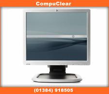 """HP L 1750 flat screen TFT Monitor 17"""" VGA DVI VAT inc A Grade."""