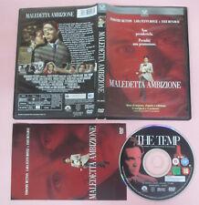 DVD film MALEDETTA AMBIZIONE The temp 2002 Timothy Hutton PARAMOUNT no vhs (D8)
