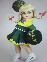"2003 TONNER 10"" ANN ESTELLE  *PEP SQUAD* outfit with PomPom's (no DOLL no BOX)"