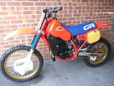 honda CR500 cr 500 1984, motocross bike, scrambler. Last of aircooled, evo.Class