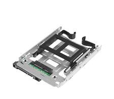 """HDD/SSD Einbaurahmen Adapter von 2,5"""" auf 3,5"""" für HP Z420 668261-001 2 SATA SAS"""