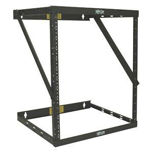 "Tripp Lite 8u 12u 22u 2 Post Open Frame Rack Cabinet Expandable 11.5"" Depth -"