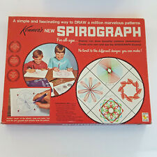 Vtg 1967 Kenner's SPIROGRAPH 401 Blue Tray ARTISTIC Drawing TOY Game Vintage