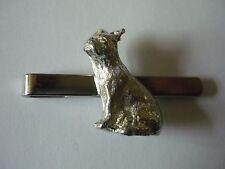 BULLDOG FRANCESE cane TG8 BELLE peltro inglese su una cravatta clip (diapositiva)