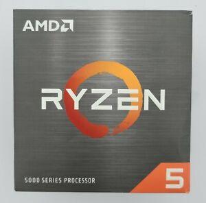 AMD Ryzen 5 5600X Desktop Processor (4.6GHz, 6 Cores, Socket AM4) Box - UNTESTED