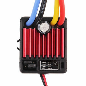 Hobbywing QuicRun Accesorios 1:10 Brush 1060 Impermeable 60A ESC RC Car