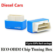 Eco OBD2 Fuel Saver for diesel cars easy install engine protection function BLUE