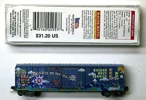 "MTL Micro-Trains 30190 Golden West GVSR ""Spring"" 774191 FW Factory Weathered"