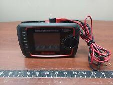 Snap On Eedm525f Digital Multimeter Enhanced Amp Test Leads In Case C X