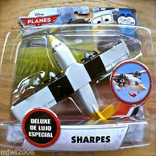 Disney Planes SHARPES TRAINING TIME Theme DELUXE diecast Spinning Propellors