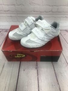 Northwave Eclipse Women's Road Cycling Shoes White/Silver EU 38 New With Box