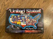 "*Brand New* The United States Puzzle 500 Pieces 32""x16"" A Broader View 2014 #156"