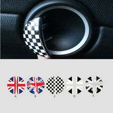 Car Interior Door Handle Stickers For BMW MINI COOPER Countryman R50 R52 R55 R53