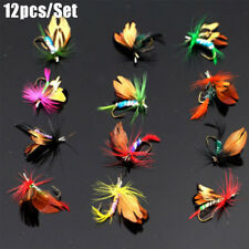 Crank Treble Hooks Swimbaits butterfly  Moth Fly Trout Fishing Lures Flies