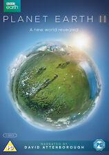Planet Earth II 2 DVD 2016 BBC Series David Attenborough