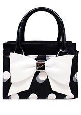 NWT BETSEY JOHNSON Kitsch Dottie Mini Satchel Bag - LIMITED EDITION
