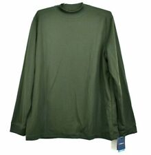 New with Tags Croft&Barrow Performance Mens Xl Green Long Sleeve Cool Dry Shirt