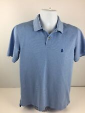 Men's Blue Izod Size Small The Advantage Polo Rugby Shirt
