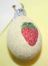 Patricia Breen miniature egg yellow with strawberry
