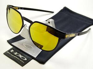 Oakley Diecutter Satin Black 24K Iridium Sonnenbrille Alpha Holbrook Latch Gauge