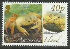 ASCENSION 2008 ANIMALS EGGS LAND CRAB 1v MNH