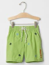 Baby Gap Boys Surf Crab Swim Trunks WILLOW SPRINGS Size 3 Years New With Tags