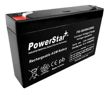 High Capacity Replacement 6V 9AH Battery For Kids Ride On Power Car Wheels