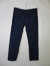 Nevada Men's Dark Blue Denim 100% Cotton Straight Leg Jeans Size 30x30