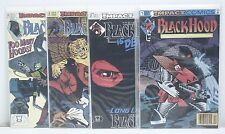 Black Hood #1-3 and #8 Comic Run CR165