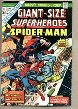 Giant-Size Super-Heroes Featuring Spider-Man #1-1974 fn- Morbius Man-Wolf