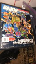 Vintage G.I. JOE Battle Figure Collectors Case Toy Action Figures Hasbro 1991