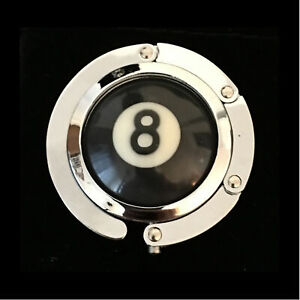 Pool Ball Hanger (8 Ball ) Heavy duty. Will hold your cue case on league night.