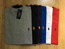Polo Ralph Lauren mezza manica - XL - Custom fit - Nero Rosso Grigio