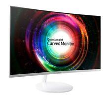"Samsung 27"" Curved QHD (2560x1440) 60Hz FreeSync Monitor HDMI (C27H711) White"
