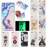 Fluorescence TPU Back Cases Luminous Soft Silicon Cover Case For Various Phone