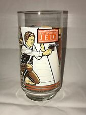 Burger King Star Wars Return of the Jedi Glass - Han Solo & Luke Skywalker NEW