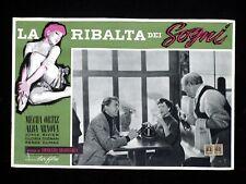 LA RIBALTA DEI SOGNI fotobusta poster Mecha Ortiz Arnova Pájards de cristal U59