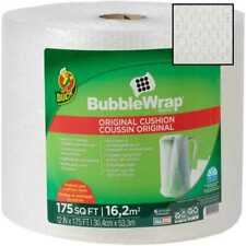 Duck Brand Bubble Wrap Roll Original Cushioning 12 X 175 Perforated Every 2868