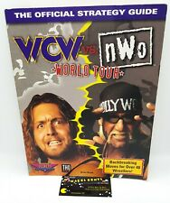 WCW VS NWO WORLD TOUR N64 Official Strategy Video Game Guide