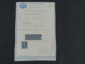 Nystamps US Stamp # 355 Mint OG NH $475 PF Certificate j16yp