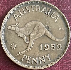 Australia - One Penny Coin - 1952 (GY17)