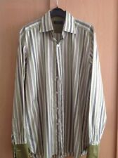 Ted Baker Striped Long Double Cuff Formal Shirts for Men