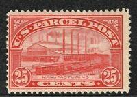 [Q]   US #Q9 Mint-OG 1913 25c PARCEL POST...Free Shipping!