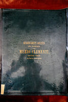 Ausgewählte Sonaten für Pianoforte Muzio Clementi  Erster Theil Musik Noten