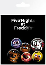Five Nights at Freddy's Mix Gaming Badges Pin Badge Pack Accessories Pins