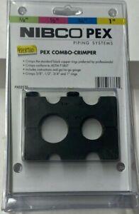 """NEW!! NIBCO PEX PIPING SYSTEMS PXO2570 Pex Combo-Crimper 3/8""""-1"""""""