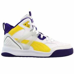 Puma Backcourt Mid Lace Up  Mens  Sneakers Shoes Casual