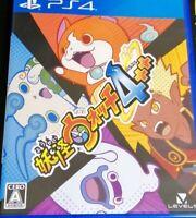 PS4 Yo-kai Watch 4++ YOKAI WATCH plapla Sony Play Station 4 PS4 game used Japan