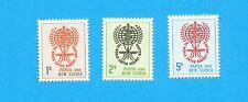 PAPUA NEW GUINEA - Scott 164-166 - VFMNH - UN WHO Malaria, Medicine - 1962